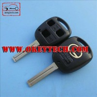 OkeyTech Lexus car key Lexus 3 buttons remote key shell toy 48 blade for Lexus remote key shell