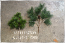 Chinna manufacture artificial pine branches / fake pine tree leaves / artificial branches for garden landscaping