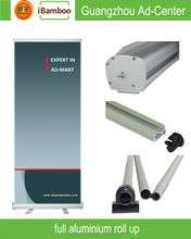 Economical Aluminum roll up stand for banner with free luxury bag