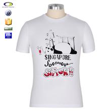 China factory cheap rubber print on t-shirt