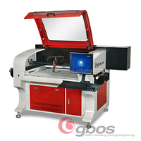 Co2 Laser Cutting Machines laser Engraving Marking Machine Woven printed label Roll