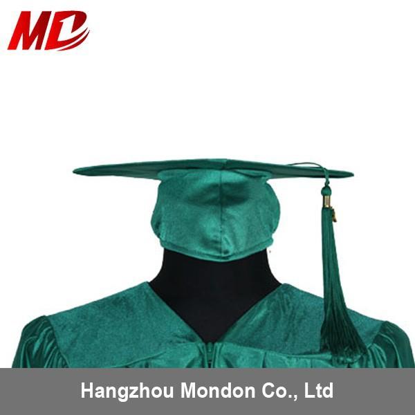 Graduation-Caps-for-Children-Shiny-Emerald-Green.jpg