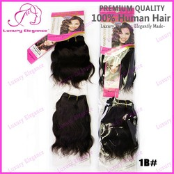 6 inch 3.53oz Top Quality Natural Wave Short Brazilian Human Hair Weave Wholesale