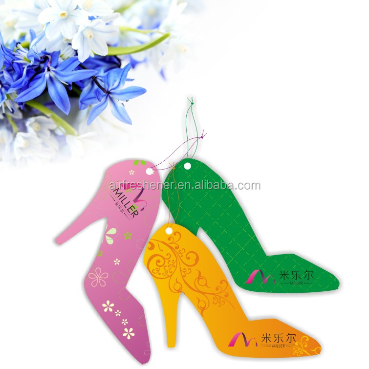 Fashionable Jewelry Decoration Promotion Gift Paper Air Freshener