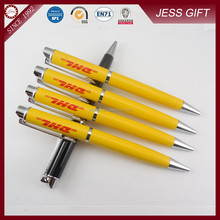 2015 yellow color metal promotional ball pen