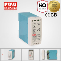 MDR-60W single output industrial DIN Rail dc power supply 15v 4a switching power supply with ce