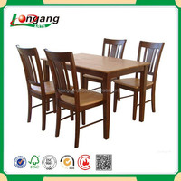 modern wooden MDF high quality room furniture dining table set
