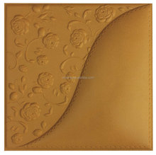 3d wall decor panel walls and ceiling decorative producted by leather