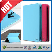 C&T Wholesales business style folio flip simple pu leather stand case for apple ipad pro