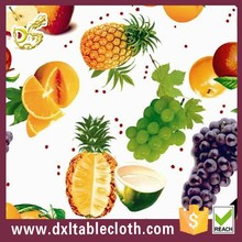 Fruit new design imported tablecloths of picnic used DXLTABLECLOTH