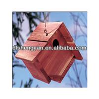 2014 Cheap Durable Comfortable Cedar Bird House for Garden Decoration