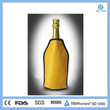 click pvc plastic ice wine cooler