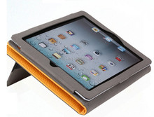 Factory wholesale price Flip cover for iPad Air stand wallet leather case