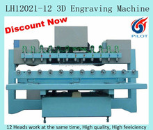 12 heads CNC carving machine for wood furniture carving