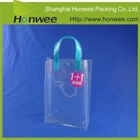 free samples custom stand up handle hard wine cooler plastic bag