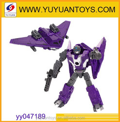 Hot new product for 2015 changeable robot toy with metal and ABS perfect combine