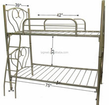 GLT-XRD-F101 on sales child bunk bed ,new flower item metal bed