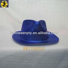 Fashion PVC Glitter Party Western Dance Hats