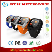 UI9 camera 5mega pixels MTK6572 dual core WCDMA WIFI GPS 3G wrist 4.4 android smart watch