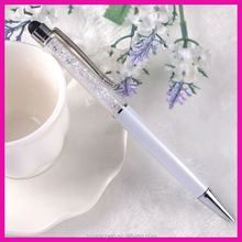 Crystal promotional pen for custiomized gift promotional stylus touch pens