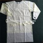 Machine made não tecido descartável paciente vestido