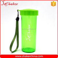 Custom Design 500ML Single Wall Plastic Cup with Dome Lid