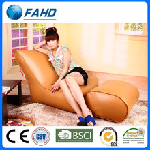 leather chaise lounge chair with ottoman modern reclining bean bag chair