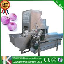 500-700kg/h cheap and high quality peeling garlic machine,garlic/onion peeling machine