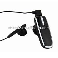 Bluetooth single earphone heated earmuff for Laptop Samsung Smart Phone Pobilephone