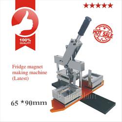 65X90mm souvenir fridge magnets making machine