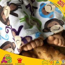 2015 fashion design top quality MOQ 50PCS SGS checked baby wool blanket
