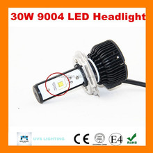 2015 wholesale high power 30w 24v 9004 use japanese car headlight lamp guangzhou electric conversion kit car led light