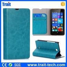 for Microsoft Lumia 430 mobile accessories Flip Stand Leather Case