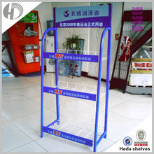 HEDA hot lowest price Guangzhou display stand 3 tier wire shelving