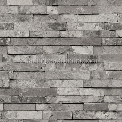 pvc legno pietra mattoni carta da parati 3d moderna lusso carta da ...