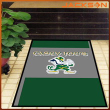 nylon printed with rubber backing door mat