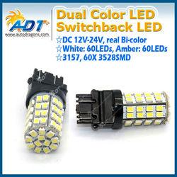 T20 3157 switchback Led Light for BMW, for AUDI, for VW