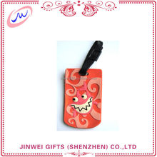 factory directly selling custom funny luggage tag strap, wholesale luggage tags