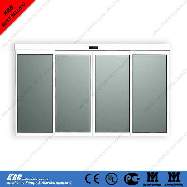 Automatic Sliding Door With Best Price Tempered Glass Sensor CE