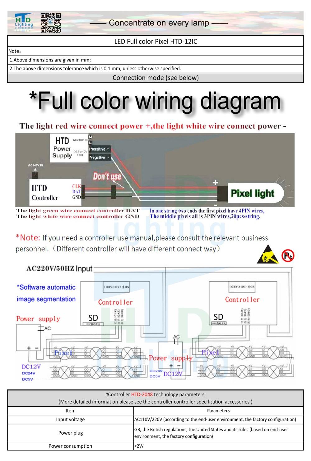 HTD-12IC LED Full color pixel-SPEC 201605__2
