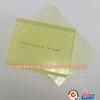 Transparent Yellow Polyurethane PU sheets