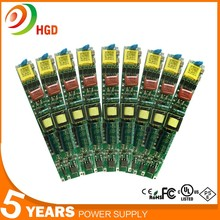 high efficiency led driver/led power supply/led transformer 0-60w 5 years warranty