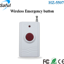 High quality & good price 315Mhz/433Mhz Wireless Emergency button/remote Panic SOS button for Security alarm system