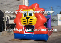 High quality Commercial used Tiger inflatable PVC mini bouncers for sale SP-CB002