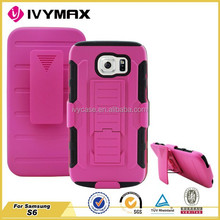 Top Seller 2015 Guangzhou Manufacurer Robot Case for Samsung Galaxy S6