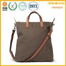 High quality canvas leather bag