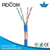 China manufacturing 26awg ftp cat5e network cable screen shielding