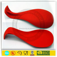 silicone wine coaster, water flow shape silicone mat with custom printing