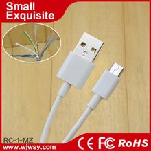 Novel design black 5 wire micro mini usb cable usb am to mini usb cable 1m 2m