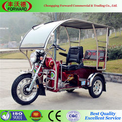 2015 hot sale red motorcycle with roof